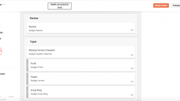 Cara Memindahkan Letak Sidebar Blogspot
